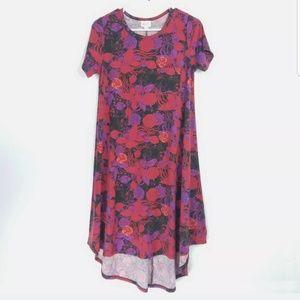 Lularoe Womens Size XS Dress Hi Low Floral